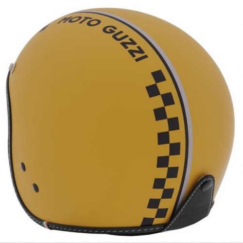 HELMET MG CHESS YELLOW MOTO GUZZI