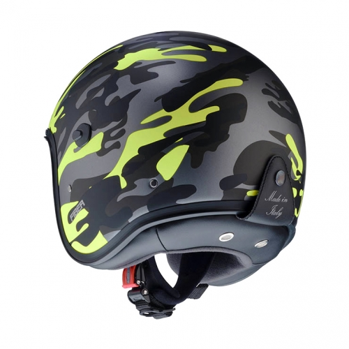 JET FREERIDE COMMANDER MATT GREEN/YELLOW FLUO CABERG