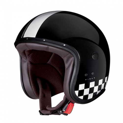 JET FREERIDE INDY BLACK/ WHITE CABERG