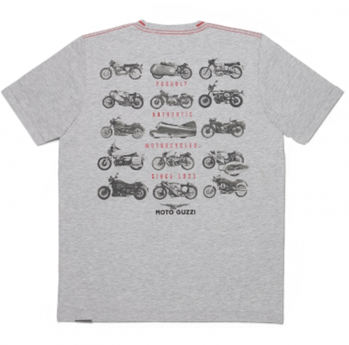 """GARAGE"" T- SHIRT MAN MOTO GUZZI"