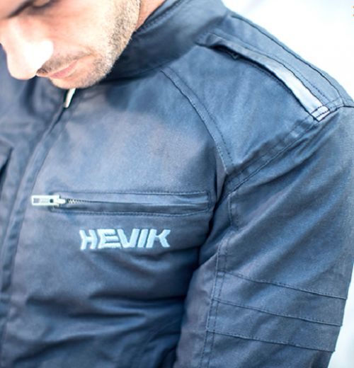 GARAGE JACKET BROWN HEVIK